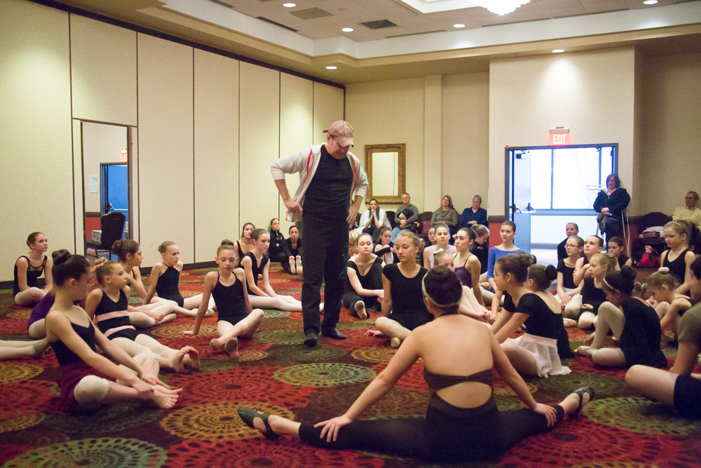 Workshop at Raise the Barre