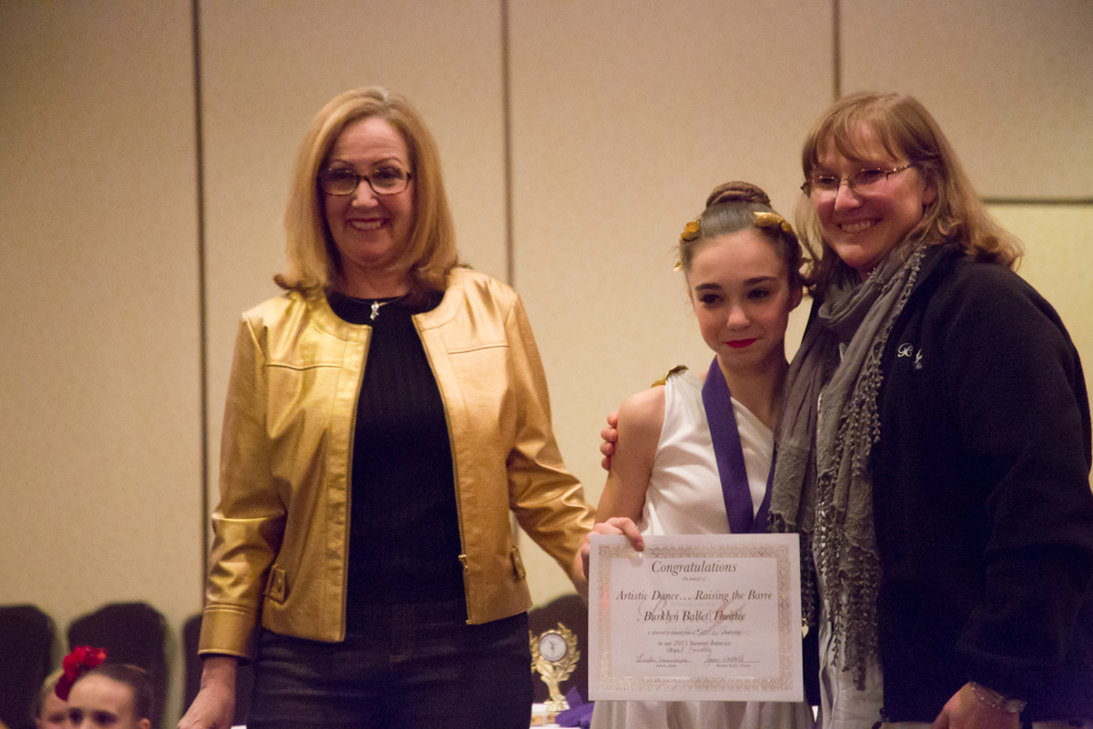 Winning a Scholarship at Raise the Barre