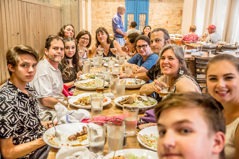 Greek dinner somewhere