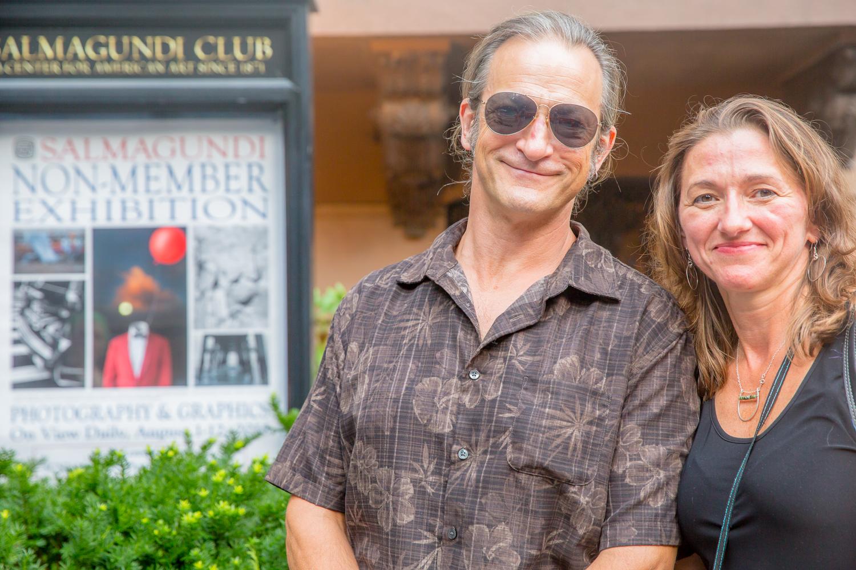 John & Irene Liebler at the Salmagundi Club
