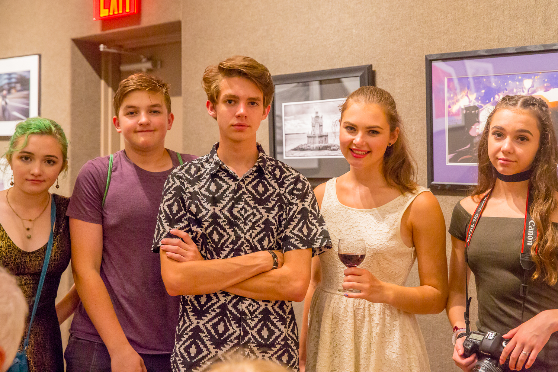 Super 9 Children: Olivia, Jack, Zach, Rachel, and Abigail