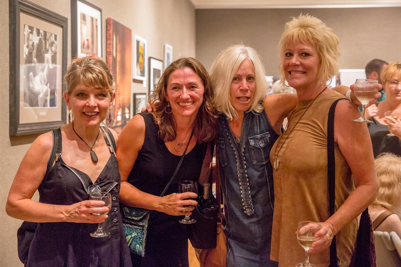 Friends! Jil Grey, Irene, Diane Heriot, & Ellen Bean